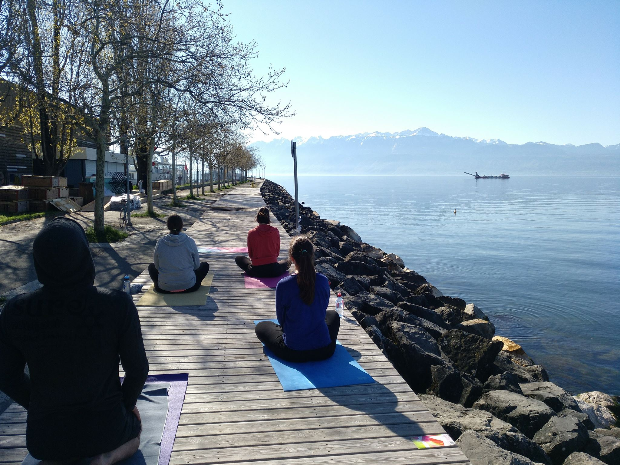 Mindful Movement by the Lake